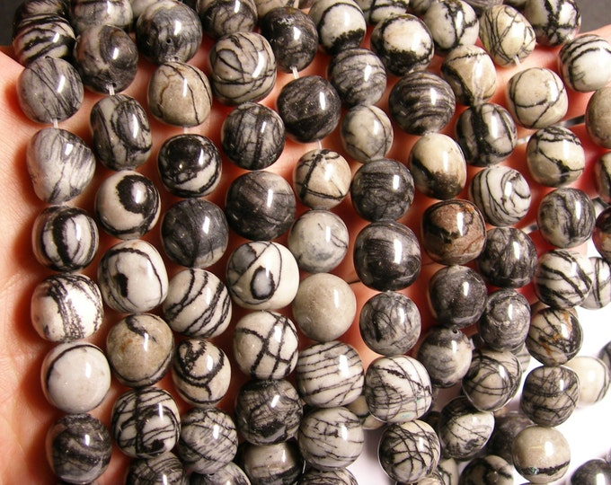 Silk stone tumbled nugget - A quality - 29  beads - full strand - smooth rectangle nugget -14mm - RFG1024