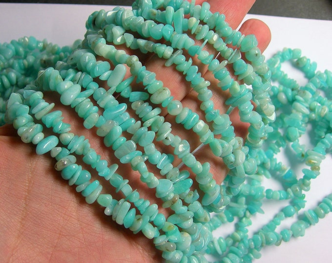 Amazonite - bead -36 inch full strand - pebble - chip stone - A quality - PSC244