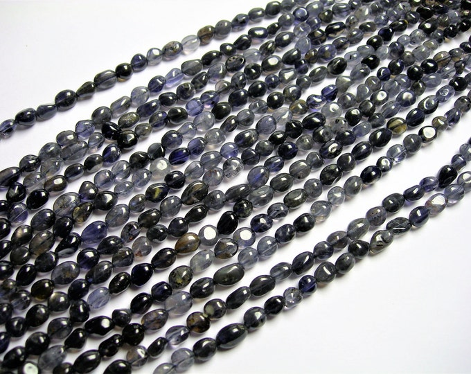 Iolite - pebble - nugget - 1 full strand  - PSC329