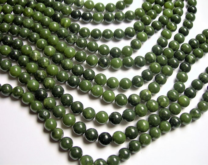 Jade -  10mm - round  - A quality - 39  beads - full strand - WHOLESALE DEAL - RFG1191