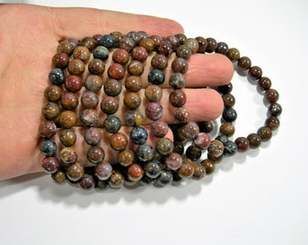 Pietersite - 1 set - 8mm  - 23 beads - A quality - HSG138A