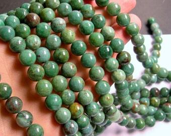 Australian Bloodstone - 10mm round beads -1 full strand - 40 beads - RFG726