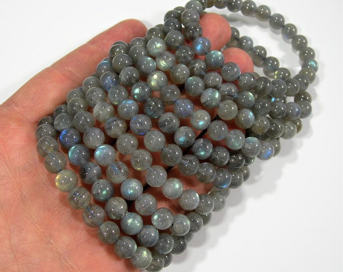 Labradorite - 8mm round beads - 23 beads - A quality -1 set - HSG173