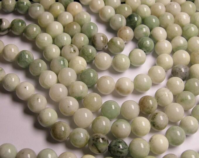 1 strand new Jade 10mm round -  40 beads per strand -  1 full strand - RFG1135