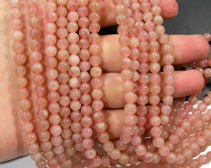 Lepidocrocite  - 6mm - full strand  66 beads - economical grade lepidocrocite - RFG1848