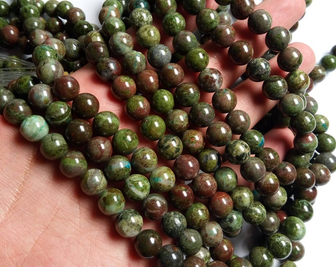 Cuprite  - 10mm(10.4mm) round - 1 full strand - 38 beads - A quality - RFG1356