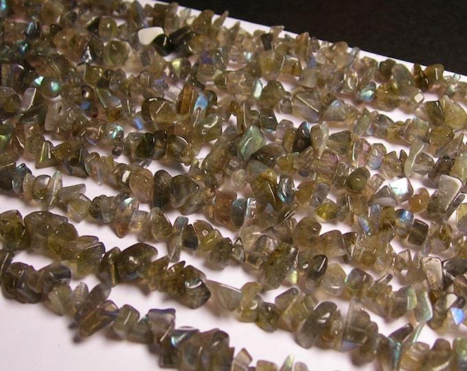 Labradotite gemstone - bead - full strand - pebble - chip stone - A quality - NRG26
