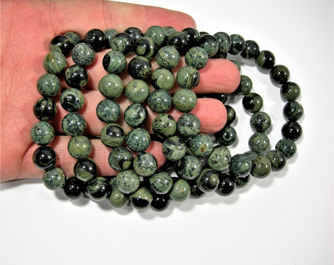 Kambaba jasper - 10mm round beads - 19 beads - 1 set - A quality - HSG13