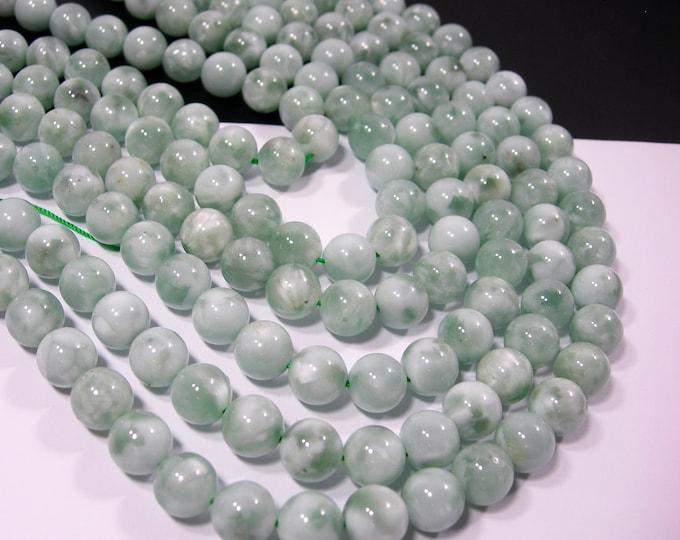 Green Angelite - 10mm round beads - full strand - 39 beads - RFG2170