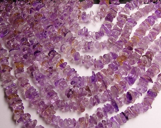 Ametrine  - chip stone beads  -1 full strand - 16 inch - 10mm  - NRG46