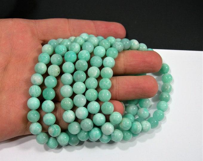 Amazonite - 1 set - 8mm  - 23 beads - A quality  - HSG150