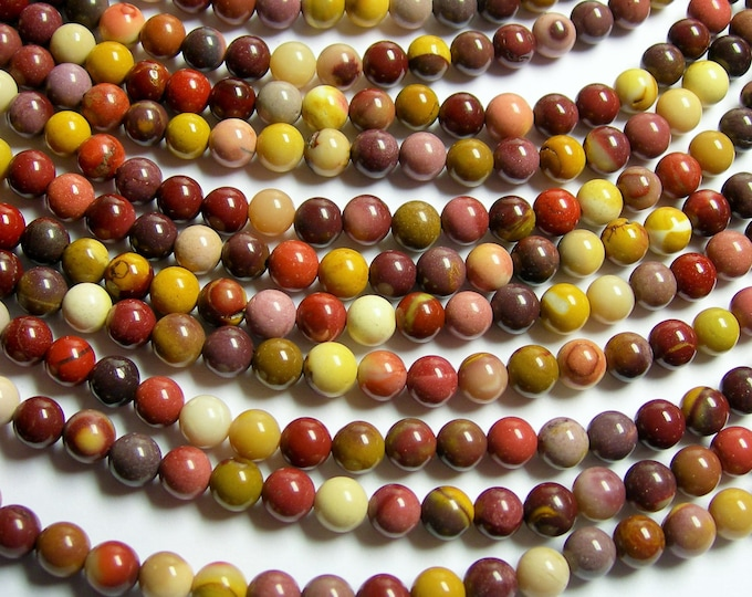 Mookaite - 6mm round - 1 full strand - 67 beads - A quality - RFG845
