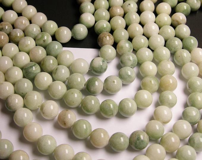 1 strand new Jade 12mm round -  34 beads per strand 1 full strand - RFG1134