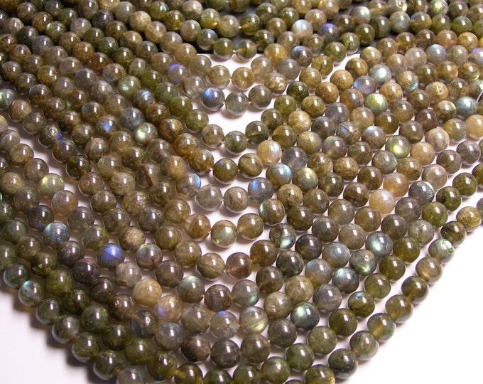 Labradorite - 10 mm beads -1 full strand - 41 beads - RFG140