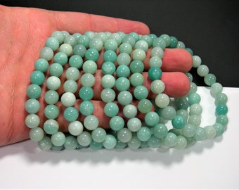 Amazonite - 1 set - 8mm  - 23 beads - HSG186