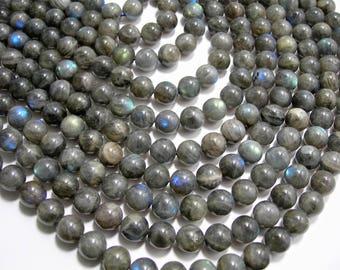 Labradorite - 10 mm beads - 1 full strand - A QUALITY - 40 beads - RFG899