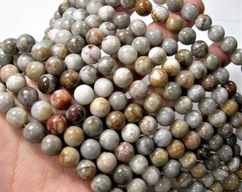 Gobi Agate - 10mm round beads - full strand - 39 beads - Gobi Desert Agate - RFG1671