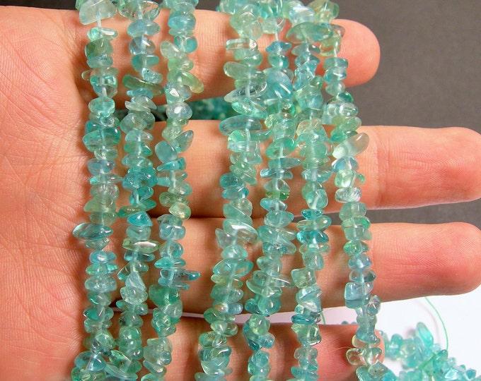 Apatite gemstone chip stone -  A quality - 1 full strand - 16 inch - PSC166