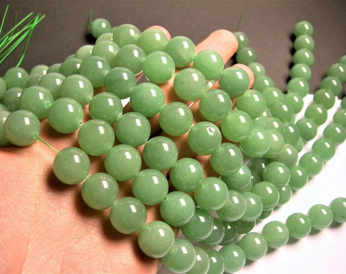 Aventurine - 16 mm round beads -1 full strand - 25  beads - AA quality - RFG1336