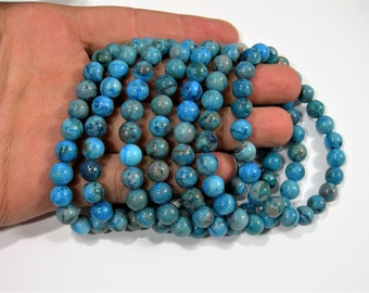Blue Crazy Lace agate - 1 set - 8mm  - 23 beads - A quality - HSG149