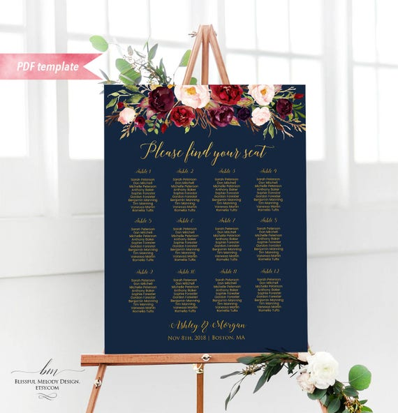 Wedding Seat Plan Template from i.etsystatic.com