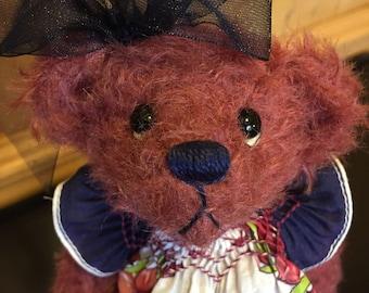 ROSEMARY: a handmade jointed teddy bear from Jazzbears
