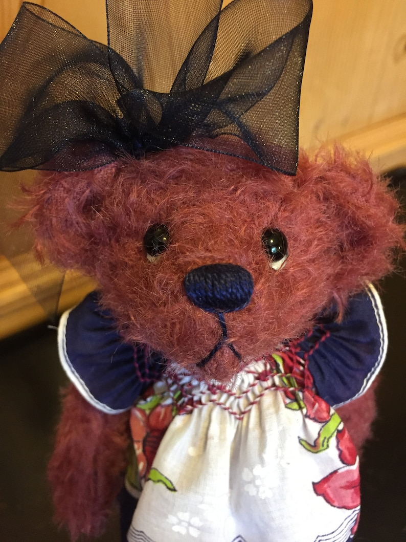 ROSEMARY: a handmade jointed teddy bear from Jazzbears image 0