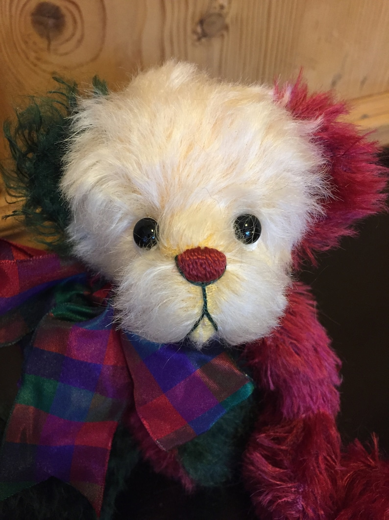 CHRIS: a handmade jointed teddy bear from Jazzbears image 0