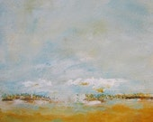 Yellow Gold Landscape 8 x...
