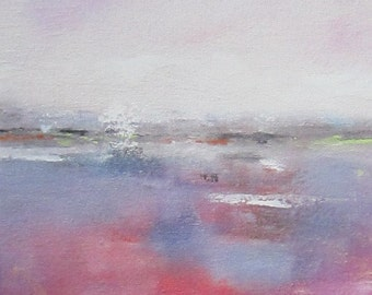 Magenta Sea 8 x 10 Giclee Print, Matted to 11 x 14