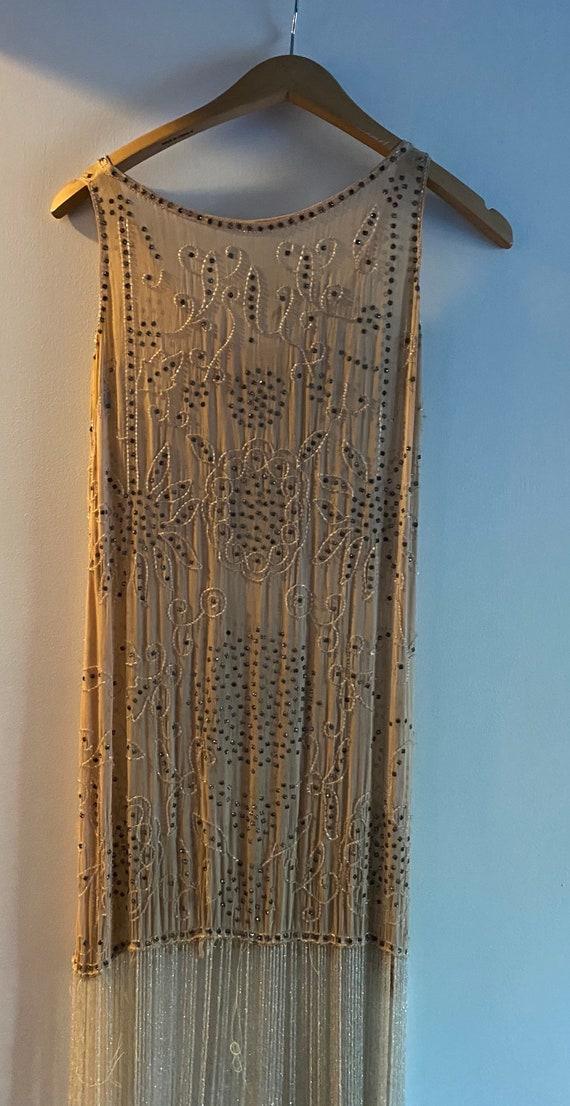 Xs beaded flapper dress