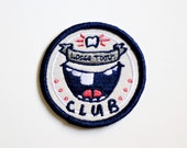 Loose Tooth Club Iron On Patch
