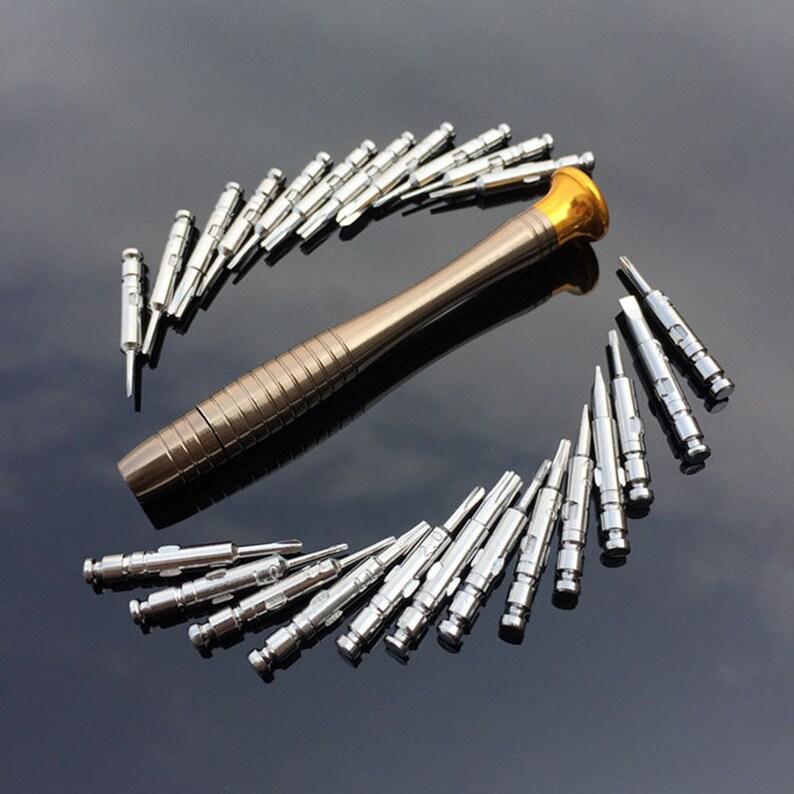 6 Stück Mini Präzision Jewelers Schraubendreher Set Uhrmacher Werkzeuge Reparatur-werkzeuge & Kits