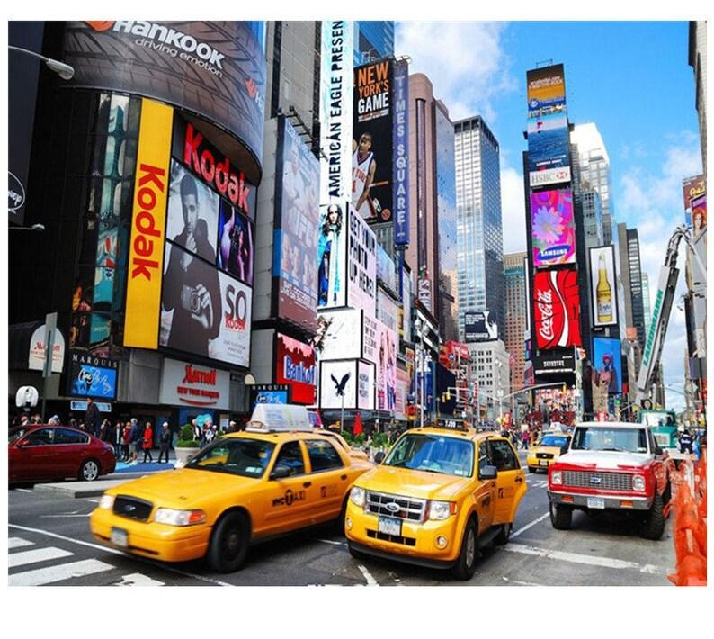 New York City Time Square Malen Nach Zahlen Kit Stadtbild Diy Kit Malerei Auf Leinwand Die Färbung Von Anzahl Erwachsenen Diy Geschenk Malerei Idee