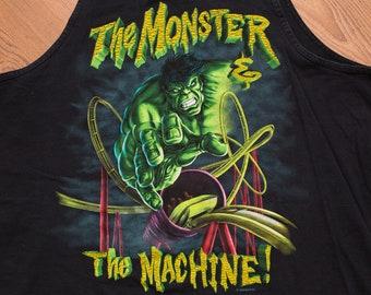 53185373de5e92 90s The Hulk Monster   Machine Ride Tank Top