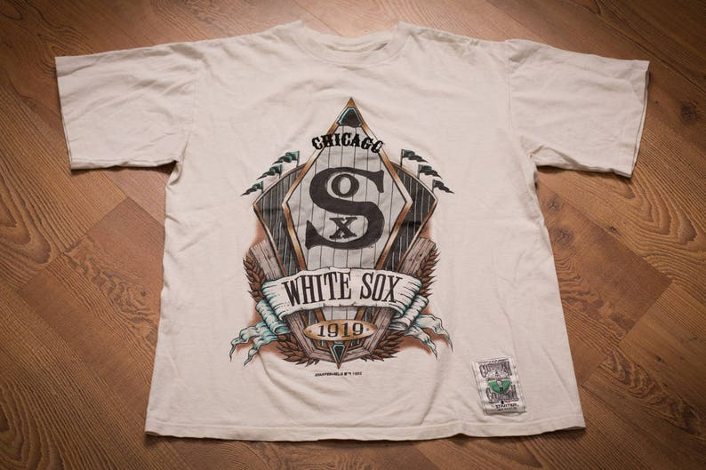 Chicago White Sox T-Shirt, Starter Authentic Cooperstown Collection,  Vintage 90s, MLB Baseball Team Graphic Tee, 1992