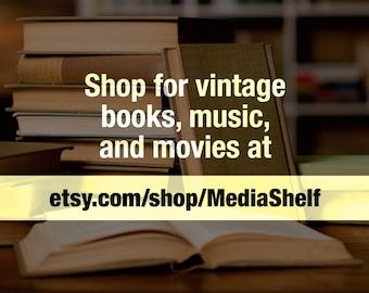 Visit etsy.com/shop/MediaShelf for Vintage Books, Music and Movies