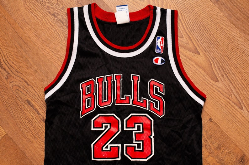 new product 1ecac f0f1d Michael Jordan #23 Jersey, Champion, Vintage 1990s, YOUTH/KIDS, Chicago  Bulls, NBA Basketball Team Uniform Tank Top Shirt, Hip Hop Apparel