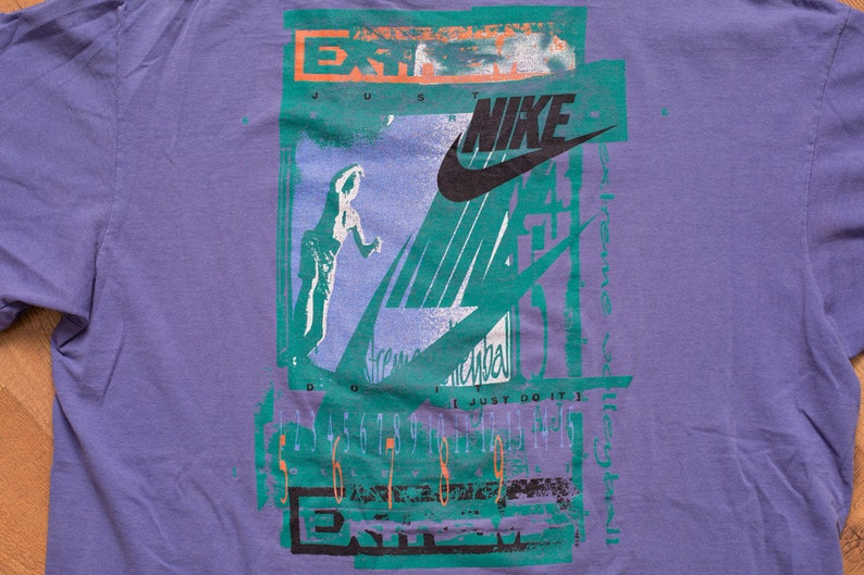 4afcf92665 NIKE Extreme Volleyball T-Shirt L Vintage 1990s Just Do It | Etsy