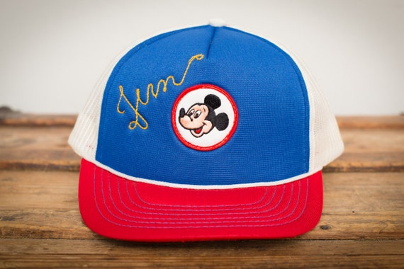 Mickey Mouse Club Snapback Trucker Hat Mesh Walt Disney  4f5c7a766869