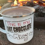 Hot Chocolate Mug - Personalize Mug for Children - Camp Mug - Camping Mug - Kids Mug - Mug for Kid - Hot Cocoa Mug - Mug Gift