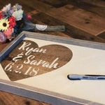 Guest Book Alternative -  Wedding Guestbook - Custom Guest Book - Wedding Gift Sign - Gift for couple