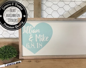 Guest Book Alternative - Wedding Guest Book - Rustic Wood Wedding Sign - Custom Wood Guestbook - Personalized Wedding - Sign In