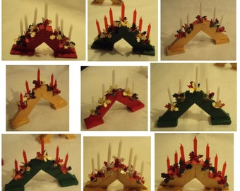 Dolls House Miniatures - 1/12th CHRISTMAS CANDLE ARCH