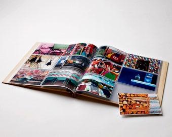 Photo Album. Wood Wedding Album. Engagement Gift. Birthday Gift. Wood Anniversary. Baby Book. 4x6