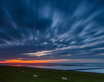 Nordstrand Sunset - Fine Art Landscape Photography Print
