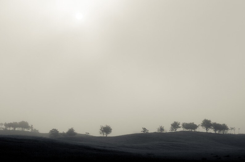 Foggy Hills  Fine Art Nature Photography Print image 0