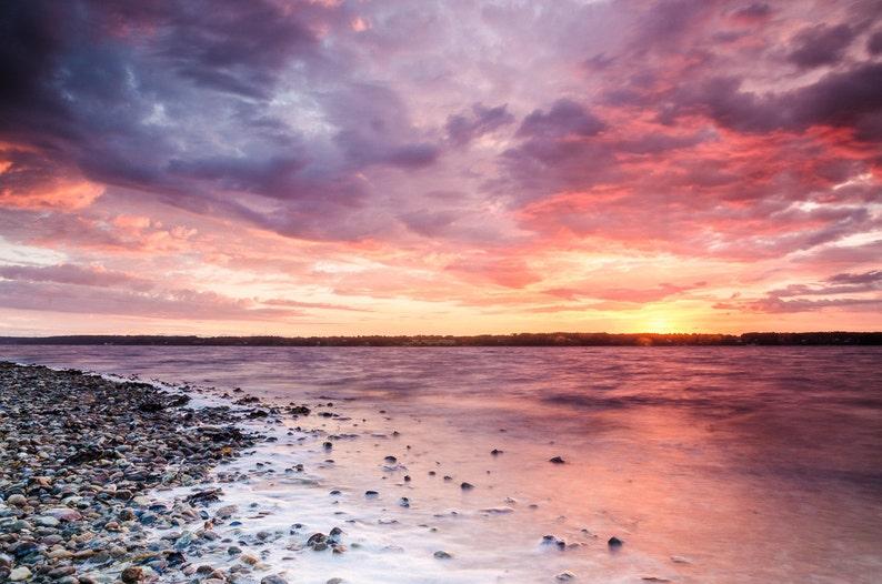 Glücksburg Sunset  Fine Art Landscape Photography Print image 0