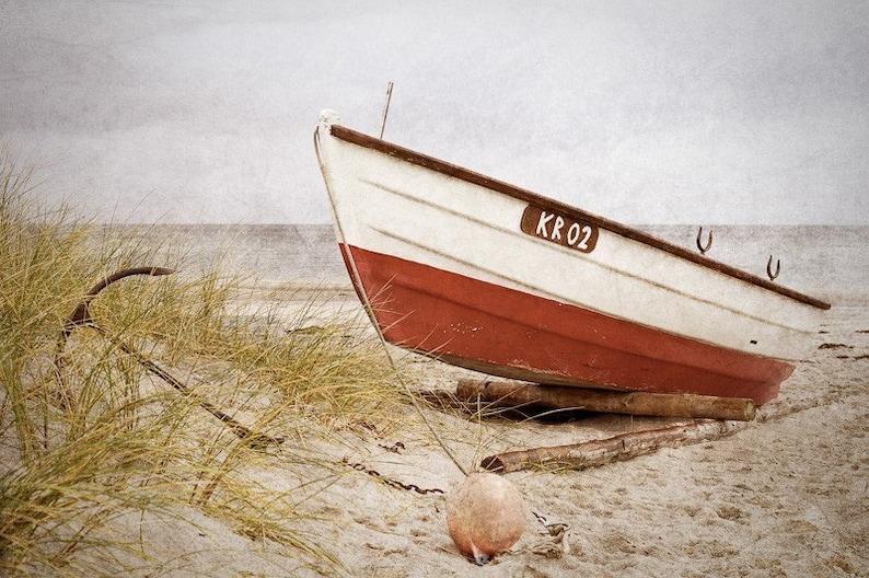 Boat on a Beach  Fine Art Photography Print image 0