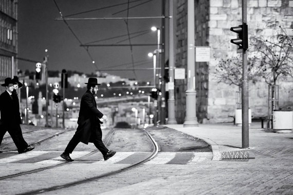 Street photography jerusalem photography black and white